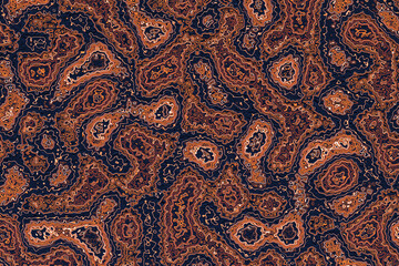 Beautiful brown texture vector design 3d illustration. Abstract chaotic pop art   surface  pattern.
