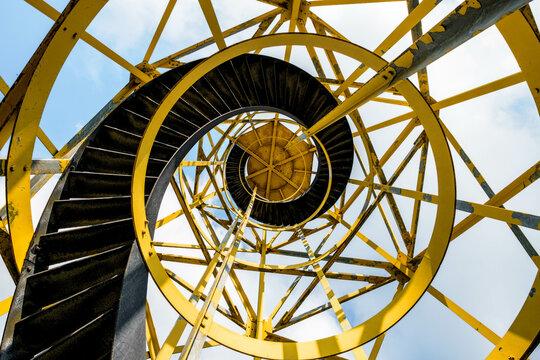 Lighthouse Lemmer, Friesland Province, The Netherlands