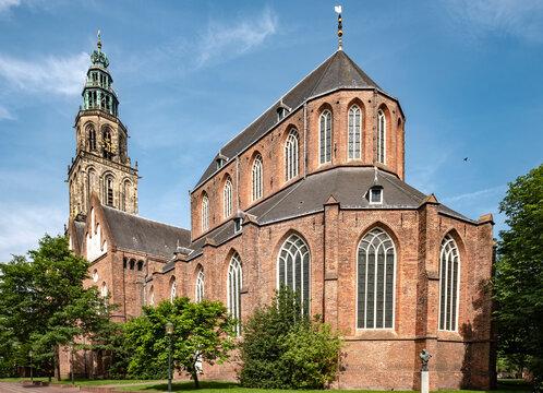 Martinikerk, Groningen, Groningen Province, The Netherlands