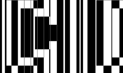 Obraz mystical pattern for halloween monochrome wallpaper for design - fototapety do salonu