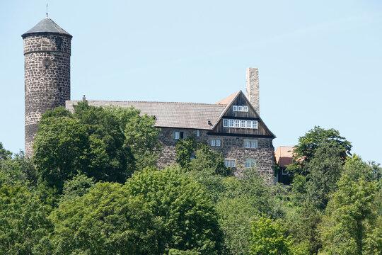 Schloss Ludwigstein im Werra-Meißner-Kreis, Hessen, Deutschland, Europe  --  Ludwigstein Castle in the Werra-Meissner district, Hesse, Germany, Europe