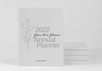 Fototapeta Year 2022 Planner Agenda Layout obraz