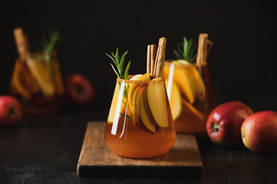 Apple cider old fashioned ready to drink