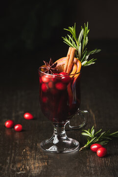 Mulled wine on a traditional recipe