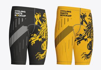 Obraz Cycling Shorts Mockup - fototapety do salonu