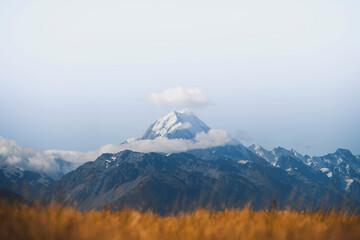 Obraz Beautiful view of Mount Cook, New Zealand - fototapety do salonu