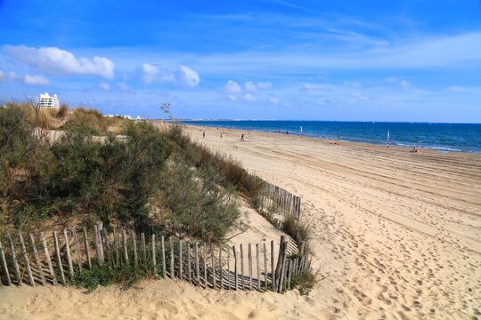 Plage du Grand Travers in France