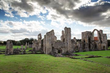 Obraz old ruins of a medieval Priory - fototapety do salonu