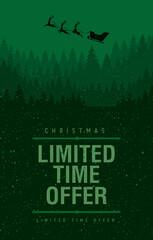 Obraz christmas sale limited offer - fototapety do salonu