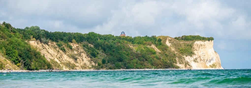 Blick auf das Kap Arkona auf Rügen