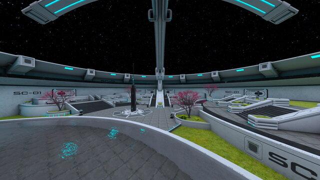 惑星探査基地