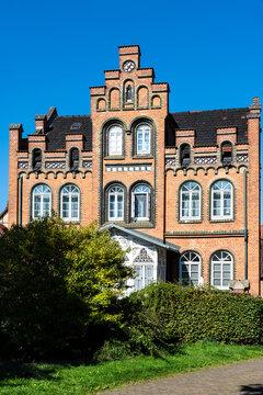 Villa mit Ziegelfassade in Hann.Münden