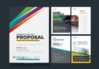Fototapeta Minimal Proposal Layout obraz
