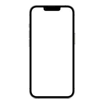 Iphone 13 pro max mock-up grey color